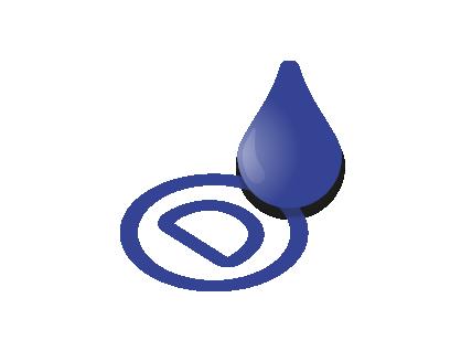 Neapolitans blue ink