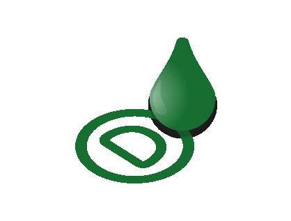 Neapolitans green ink